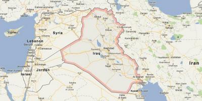 Irak Kartta Kartat Irak Lansi Aasia Aasia